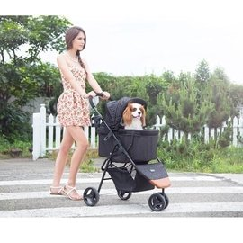 強妮寵物~IBIYAYA依比呀呀 FS1430 易秒收 超輕 耐用 鋁合金寵物推車~~寵物
