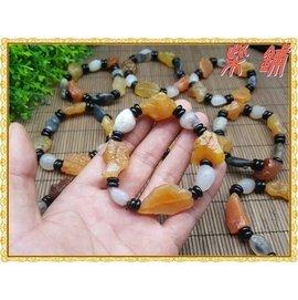 ~柴鋪~特選 A級 天然阿拉善戈壁瑪瑙原石手串 彩珠色石手鍊 乾淨通透
