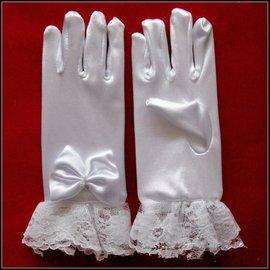 ~孟之坊婚禮 ~兒童小禮服 蕾絲短手套 .幼兒園演出手套.結婚用品.吃茶 .南部南瓜馬車出