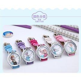 兒童手錶女孩防水石英表小學生小孩可愛卡通表女童水鑽電子錶