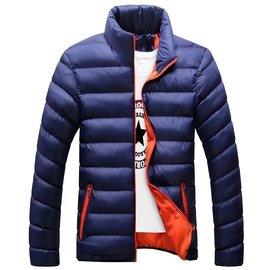 外套男士加厚棉衣 修身青年棉服保暖 羽絨棉襖冬男衣服
