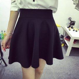 性感 洋裝 連露背洋裝 小洋裝 顯瘦 女神 半身裙春裝新蓬蓬裙半身裙短裙女裝裙子  彈力顯