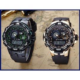 愛普戶外 電子手錶男女學生電子錶夜光多 防水手錶
