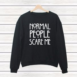 normal PeoPle scare me美 袖衣