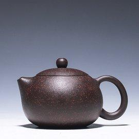 宜興名家正品 純全 宜興紫砂壺茶壺茶具套裝 黑金砂西施