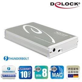 Delock ^#42510 2.5吋Thunderbolt SATA硬碟外接盒