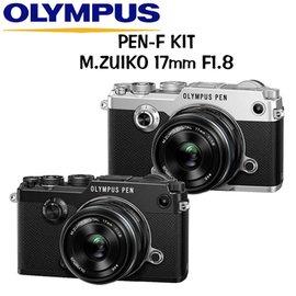 OLYMPUS PEN~F 17mm F1.8 ^( 貨^)~送64G 電池等9大好禮