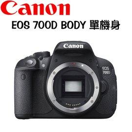 CANON EOS 700D BODY 單機身 ^(中文平輸^)~送32G 鋰電池 吹球拭