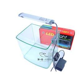第一佳水族寵物  雅柏UP LED燈具 全白燈   掛式 夾燈 ~17cm