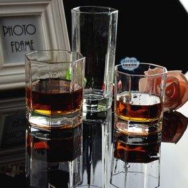 無色透明 玻璃杯子套裝茶杯泡茶水杯啤酒杯白酒杯加厚耐熱