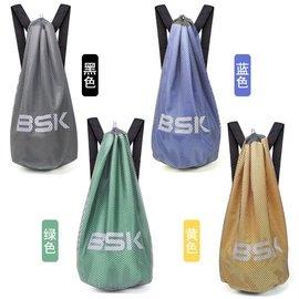 籃球包籃球袋訓練包束口袋包郵網袋包雙背包足球 網肩桶包