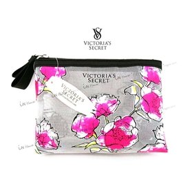 IN House* VICTORIA S SECRET 維多利亞的秘密 銀絲 網紗 粉色牡