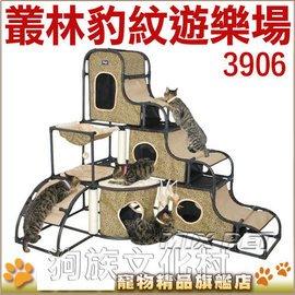~ IRIS~3906豪華森林豹紋貓跳台~組裝超簡單~左側全店折價卷可立即再折抵 0利率~