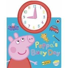 英文繪本-Peppa Pig: Peppa's Busy Day 佩佩豬忙碌的一天 時鐘書