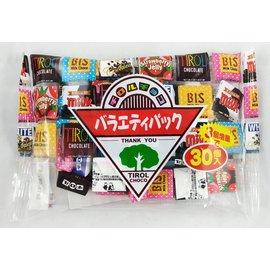 《松尾五味巧克力綜合包 30個入 》|tirol-choco|  芝櫻