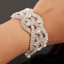 飾品 滿鑽多層水晶鑽石手鏈鑲鑽首飾手鐲女士 016