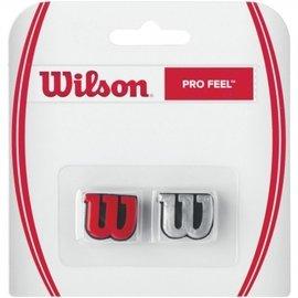 ~曼森體育~ WILSON 網球拍 避震器 Wilson Profeel 銀 紅款 藍 黃