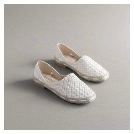 爆款^~真皮草編漁夫鞋 平底鞋懶人鞋編織女鞋  ^#38210 空 單鞋 HKX369