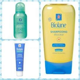 歐洲 biolane 法貝兒 嬰兒溫和洗髮精 spa浴泡泡露 護膚膏^(屁屁膏^)^(28