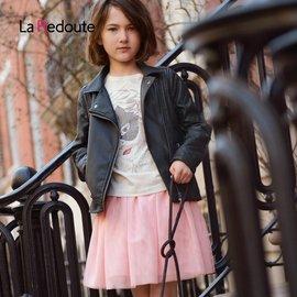 樂都特 女童網紗公主裙半身裙 純棉內襯 歐根紗 KP2911