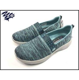 Skechers Burst~Blown Away 藍 黑 灰底 圖騰 走路鞋 健走鞋 女
