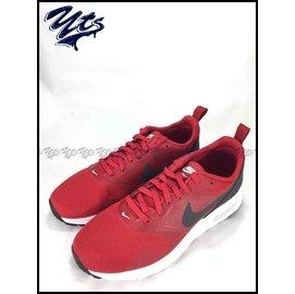 NIKE AIR MAX TAVAS GS 大童鞋 女鞋 氣墊 慢跑鞋 酒紅 黑紅 增高