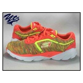 Skechers GO RUN 彩虹 漸層 編織 飛線 無縫線 慢跑鞋 健走 女鞋 輕量
