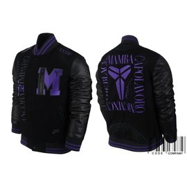 NIKE KOBE MAMBA DESTROYER MP JACKET 電繡羊毛棒球外套^