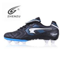 振足正品男子足球鞋 碎釘FG F50足球鞋 女子訓練鞋 真皮牛皮 皮足