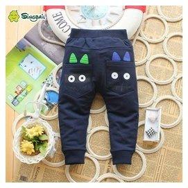 singbail寶寶秋裝純棉褲子可開檔嬰幼兒長褲男女小童1~2歲 褲