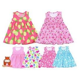 媽咪家~AG118~AG118彈性背心洋裝 河馬牌 無袖 萊卡 傘狀 高腰 背心裙 娃娃裝