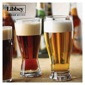 美國利比 沙漏加厚玻璃啤杯 不帶把超大扎啤杯子套裝