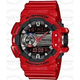 國外 CASIO G~SHOCK G MIX智慧型藍芽 GBA~400~4A 紅黑 手錶