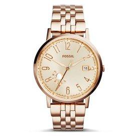 FOSSILES3789 典雅氣質 俐落 腕錶 玫瑰金 40mm 公