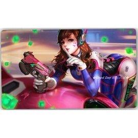 鬥陣特攻~角色滑鼠墊超大遊戲電競滑鼠墊 滑鼠 鍵盤 桌墊 英雄聯盟可客製化尺寸 圖片