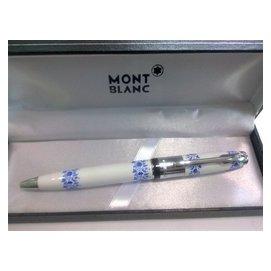 超級 萬寶龍青花瓷系列簽字筆 鋼珠筆