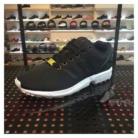 Adidas ZX FLUX 款 黑白 格紋編織 TUBULAR Y3 情侶鞋 男段  M