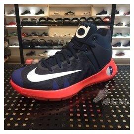 NIKE KD TREY 5 IV EP 深藍紅 海軍藍 籃球鞋 雷帝 藍白 男段 844