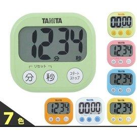 ~阿肥的店~ TANITA TD~384 dretec超大螢幕計時器 粉 藍 橘 黃 綠