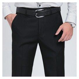 柒牌男士西褲秋鼕厚款 中老年商務正裝西褲免燙 直筒寬松 長褲