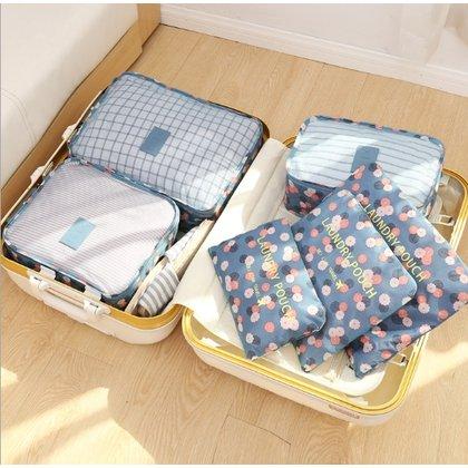 秒出 K 旅行聖品 cp王 第 韓式旅行六件組 包中包 旅用收納袋 旅行收納袋 飛機收