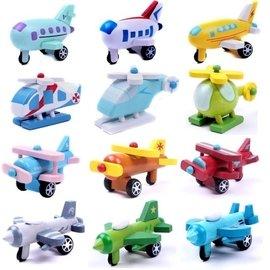 全新品 日牌 Wooden Mini Car 木製飛機 玩具飛機  模型飛機 1套12款