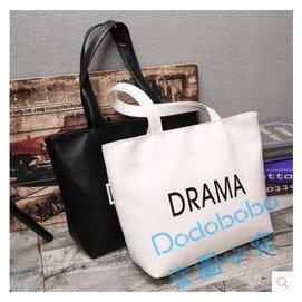 2016 女包百搭大包包簡約大容量托特包女手提單肩包 潮定制Dodobobo