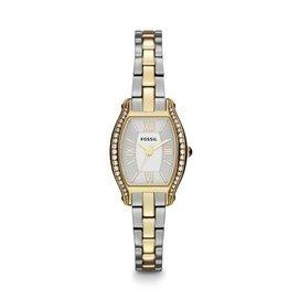 【爱妳心不变】美国  ES3287 时尚小巧酒桶表盘不锈钢表带 女表 双