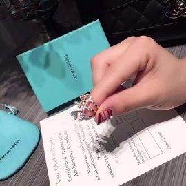 Tiffany&Co戒指  純銀戒指 TIFFANY開口925銀戒指(650元)