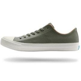 PEOPLE FOOTWEAR THE PHILLIPS 輕量編織休閒鞋(墨綠白).NC01-017.男女