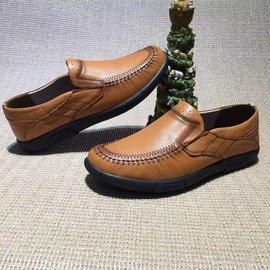 Ecco丹麥愛步品牌2016 款上市中復古皮鞋