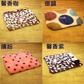 ~同床共枕~ 花色  升級 加厚包邊款法蘭絨、法蘭絨~四季空調毯.保暖毛毯.車用 薄毯 小