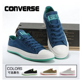 匡威正品潮鞋韓版休閑鞋炫彩經典4色高低幫男女情侶帆布鞋運動鞋