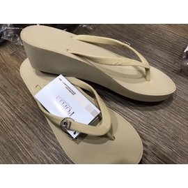 美國品牌POPITS 坡跟厚底 夾腳拖鞋 尺寸25cm 楔形夾腳人字拖 4色